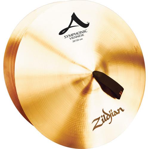 "Zildjian 20"" A Zildjian Symphonic Viennese Tone Cymbals (Pair)"