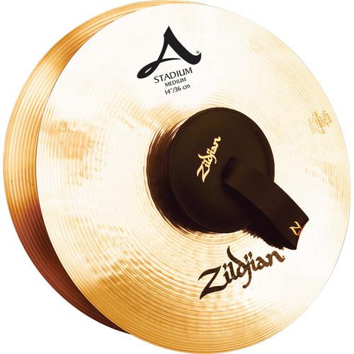 "Zildjian 14"" A Zildjian Stadium Series Medium Cymbals (Pair)"
