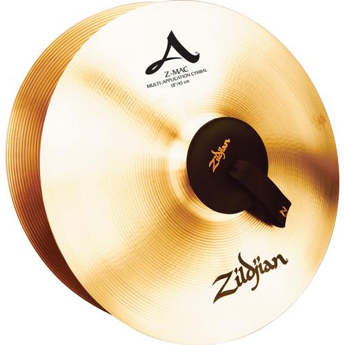 """Zildjian 18"""" A Zildjian Z-Mac Cymbals (Pair)"""