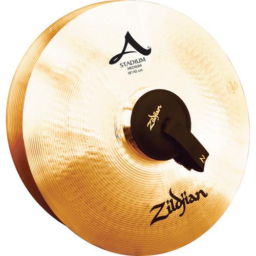 """Zildjian 18"""" A Zildjian Stadium Series Medium Hand Cymbals (Pair)"""