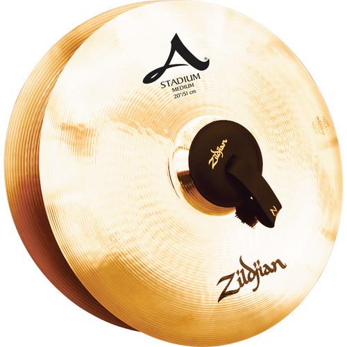 """Zildjian 20"""" A Zildjian Stadium Medium Hand Cymbals (Pair)"""
