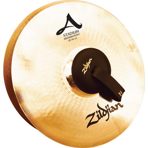 """Zildjian 18"""" A Zildjian Stadium Medium Heavy Hand Cymbals (Pair)"""