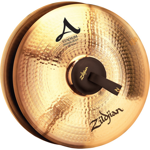 """Zildjian 20"""" A Zildjian Stadium Medium Heavy Hand Cymbals (Pair)"""