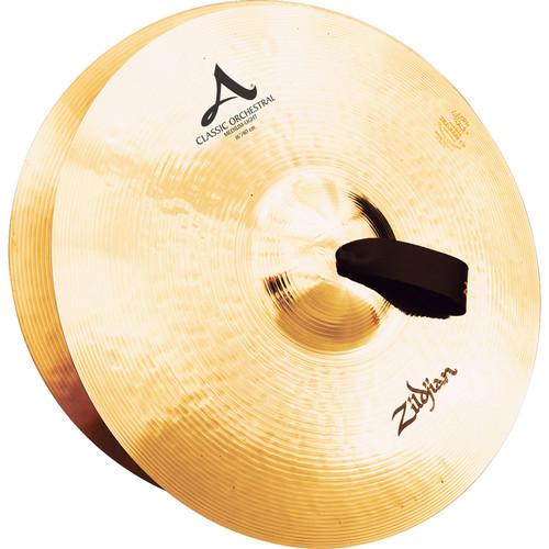 """Zildjian 16"""" A Zildjian Classic Orchestral Selection Medium Light Hand Cymbals (Pair)"""