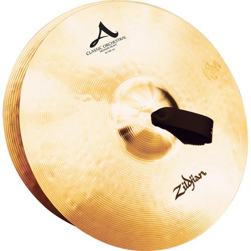 """Zildjian 16"""" A Zildjian Classic Orchestral Selection Medium Heavy Hand Cymbals (Pair)"""