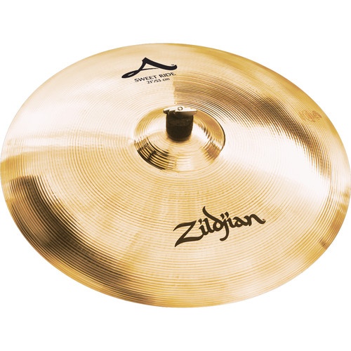 "Zildjian 21"" A Zildjian Sweet Ride Brilliant Cymbal"