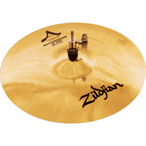 "Zildjian 13"" A Custom Mastersound Hi-Hat Cymbal (Top)"