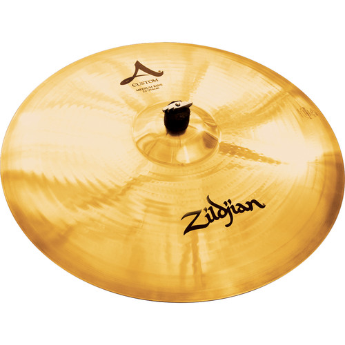 "Zildjian 22"" A Custom Medium Ride Cymbal"