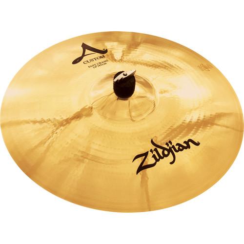 "Zildjian 18"" A Custom Fast Crash Cymbal"
