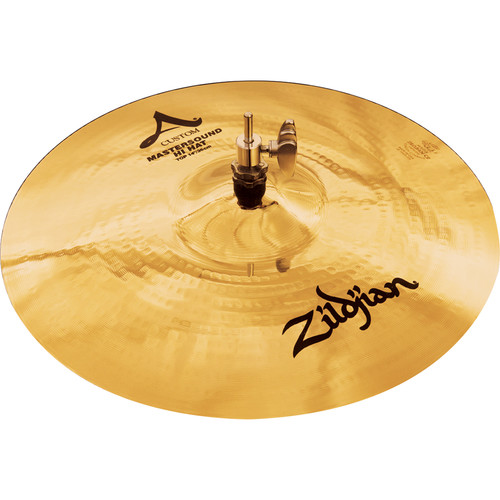 "Zildjian 14"" A Custom Mastersound Hi-Hat Cymbal (Top)"
