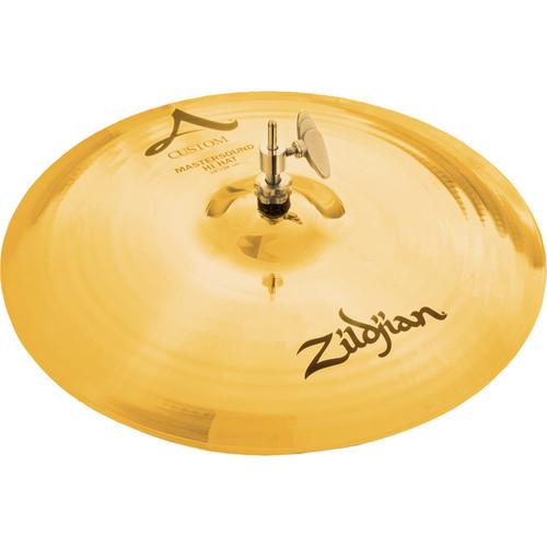 "Zildjian 15"" A Custom Mastersound Hi-Hat Cymbal (Top)"