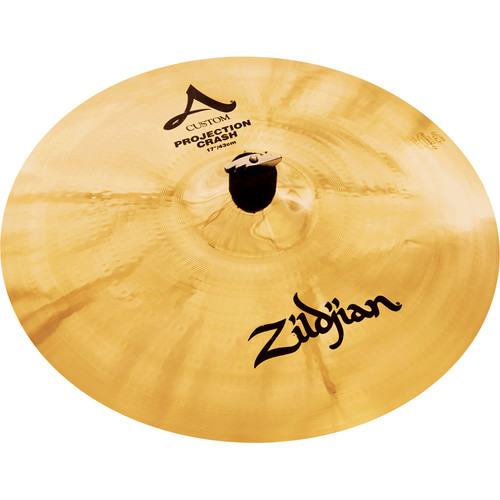 "Zildjian 17"" A Custom Projection Crash Cymbal"