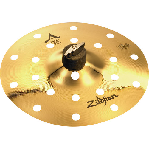 "Zildjian 10"" A Custom EFX Crash Cymbal"