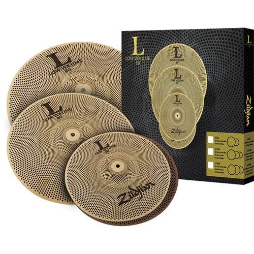 Zildjian LV468 L80 Low Volume Drumset Cymbals Box Set