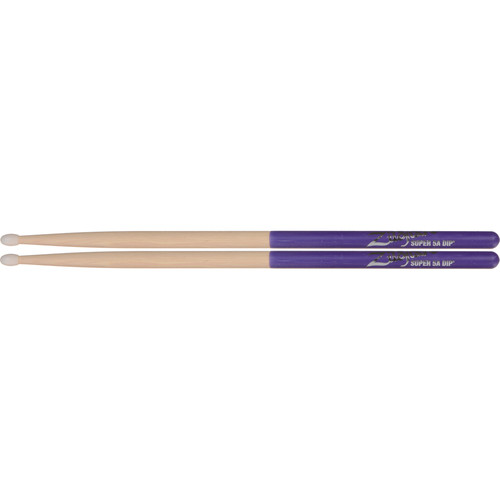 Zildjian Super 5A Nylon Purple DIP Drumsticks (1 Pair)