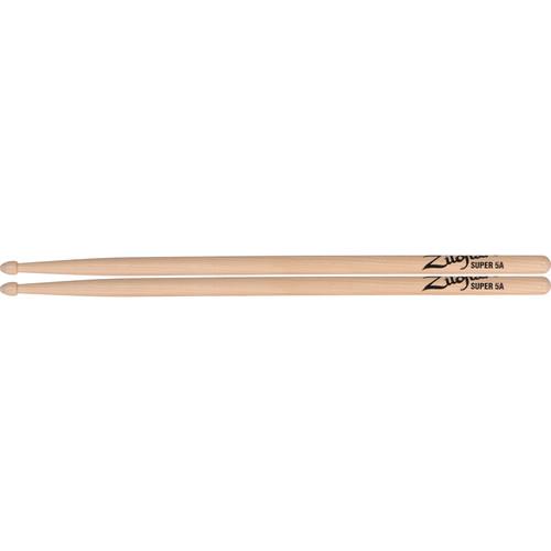 Zildjian Super 5A Wood Natural Drumsticks (1 Pair)