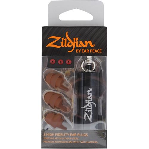 Zildjian HD Earplugs (Set of 3, Dark)