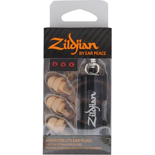 Zildjian HD Earplugs (Set of 3, Light)