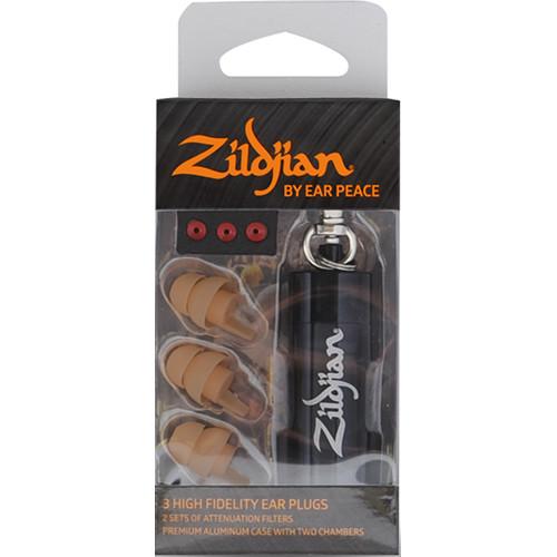 Zildjian HD Earplugs (Set of 3, Tan)