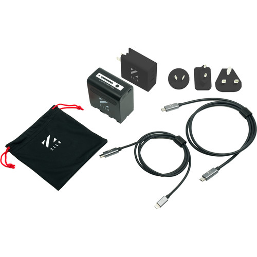ZILR NP-F970 USB Type-C PD Power Kit for Zcam / Atomos / L-Series
