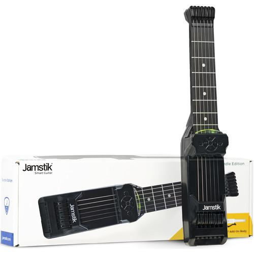 Zivix Jamstik 7 Midi Controller Premium Bundle - MIDI Smart Guitar with Case & Body (Right Handed)