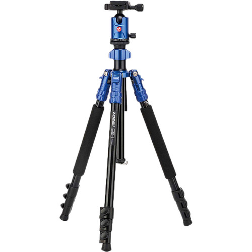 ZOMEi M-07 2-in-1 Aluminum Travel Tripod with Monopod (Blue)