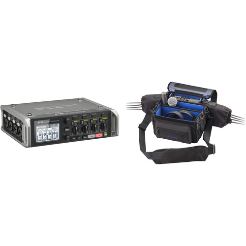 Zoom F4 Multitrack Field Recorder Kit with PCF-8 Protective Case