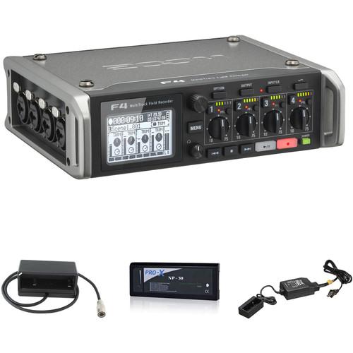 Zoom F4 Field Recorder Kit