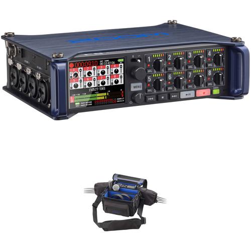 Zoom F8 Field Recorder & Custom Protective Case Kit