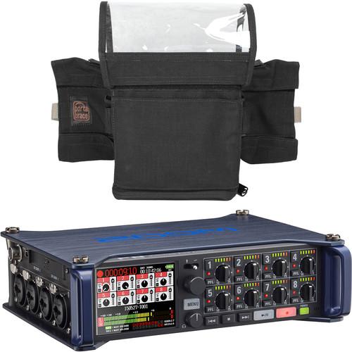Zoom F8 Multi-Track Field Recorder & Custom Case Kit