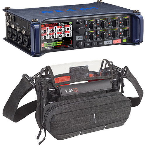 Zoom F8 Multi-Track Field Recorder with Stingray MixPro Audio Bag Kit