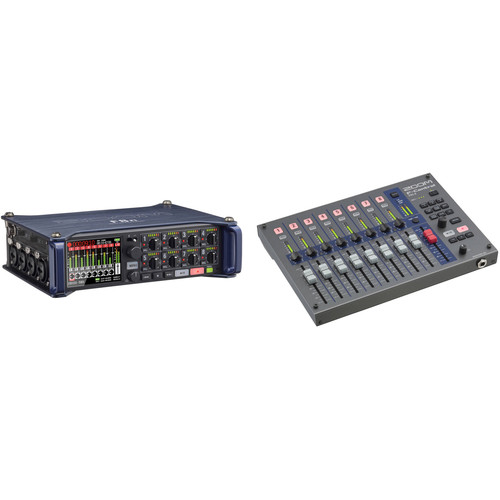 Zoom F8n Multi-Track Field Recorder Kit with F-Control