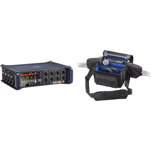 Zoom F8n Multi-Track Field Recorder Kit with PCF-8 Protective Case