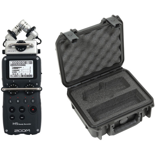Zoom H5 Handy Recorder and Waterproof Case Kit