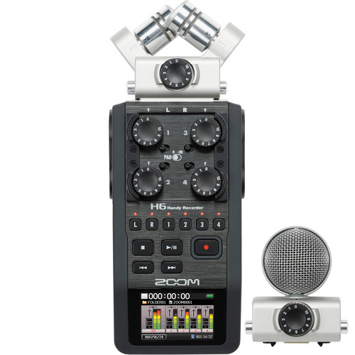 Zoom H6 6-Input / 6-Track Portable Handy Recorder