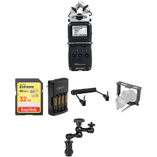 Zoom HDSLR Video Rig Two-Channel Audio Solution Kit