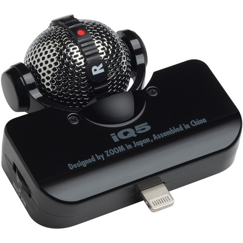 Zoom iQ5 Stereo Mid-Side Mic/Lightning iOS