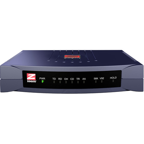 Zoom Telephonics 3049 V.92 56K External 56K Data/Fax Modem