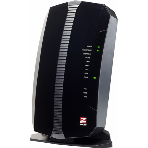 Zoom Telephonics 5354 DOCSIS 3.0 Wireless-N Cable Modem/Router