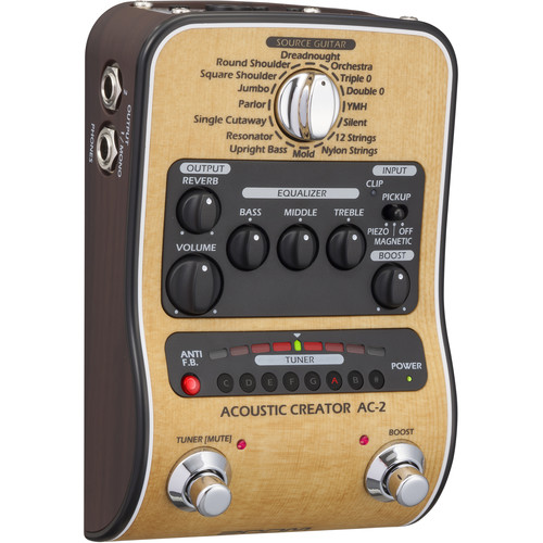 Zoom Zoom AC-2 Acoustic Creator Pedal