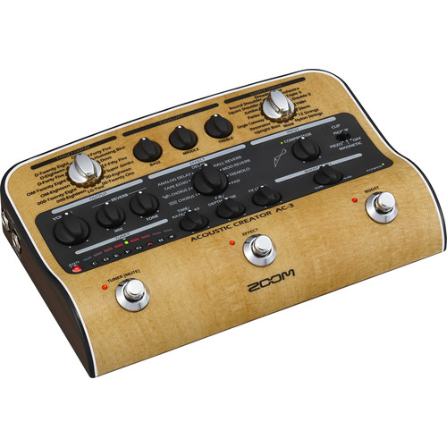 Zoom AC-3 Acoustic Creator Pedal