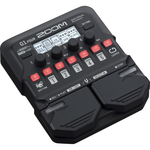 Zoom G1 Four Guitar Effects Processor