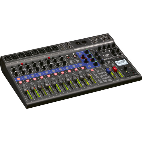 Zoom LiveTrak L-12 - 12-Channel Digital Mixer & Multitrack Recorder