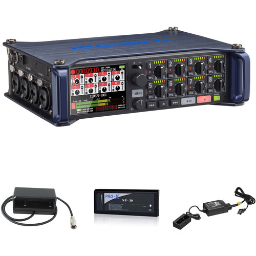 Zoom F8 Field Recorder Kit