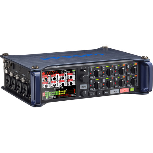 Zoom Zoom F8 Multitrack Field Recorder Kit with Protective Case