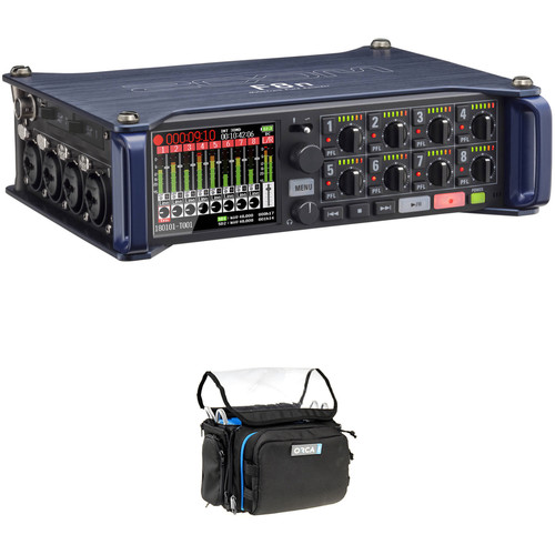 Zoom F8n Multitrack Field Recorder Kit with ORCA OR-28 Mini Bag
