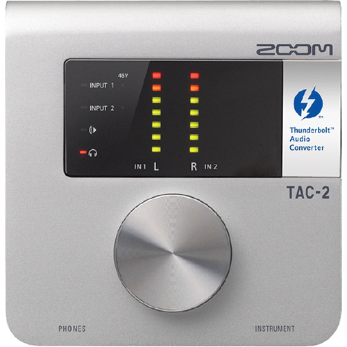 Zoom TAC-2 Thunderbolt Audio Interface for Mac