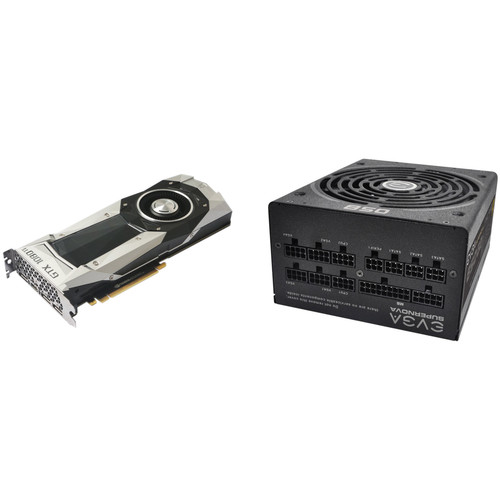 ZOTAC GeForce GTX 1080 Ti Founders Edition Graphics Card with EVGA SuperNOVA 850G2 850W Power Supply Kit