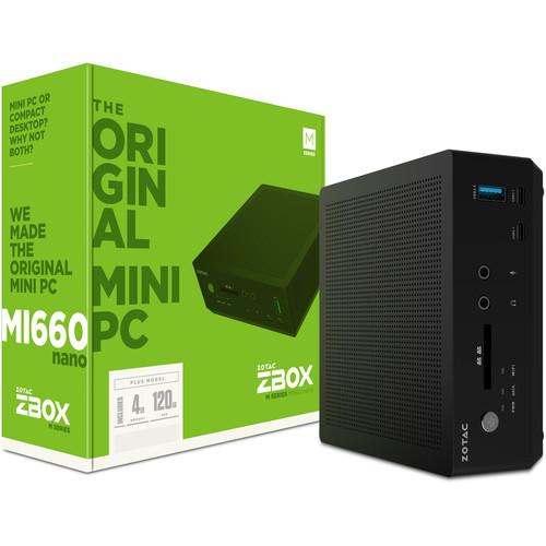 ZOTAC ZBOX MI660 nano PLUS Mini Desktop Computer