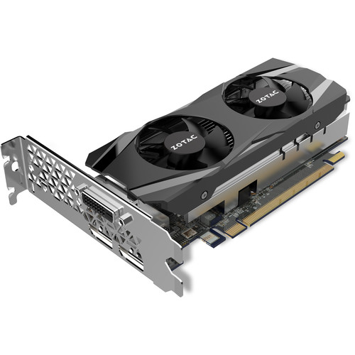 ZOTAC GeForce GTX 1050 Low Profile Graphics Card